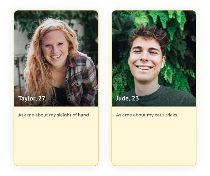 dating profile examples ask me about