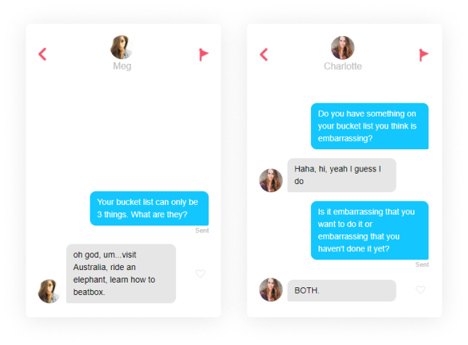 questions to ask on tinder bucket list