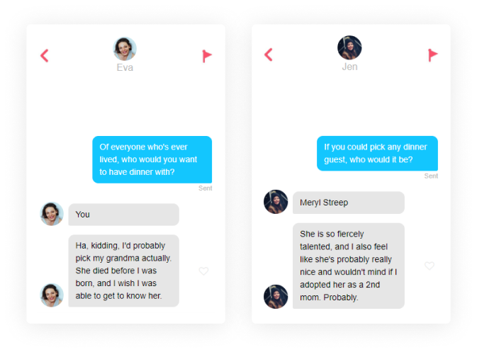 questions to ask on tinder dinner guest