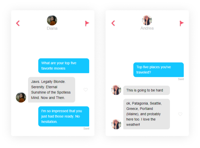 questions to ask on tinder top five