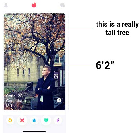 Tinder hurts self-esteem because you think your profile truly represents you